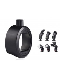 Kit Godox SR-1 con SK-R1 con modificadores magneticos y adaptador para flashes circular