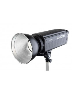 Godox SL-200W foco led vista lateral