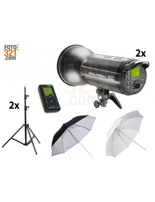 Kit 2A flash DPsIII 300