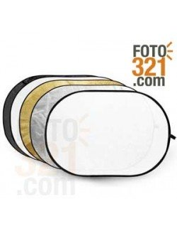 Reflector plegable 5 en 1 70x110