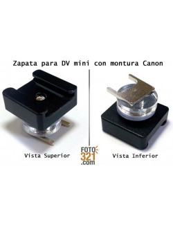 Adaptador DV Mini Canon
