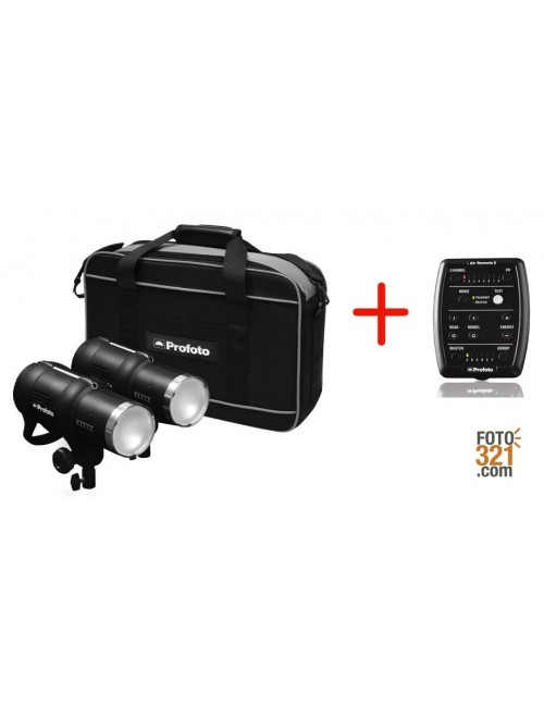 Kit flashes Profoto D1 Basic 1000-100W + Air Remote