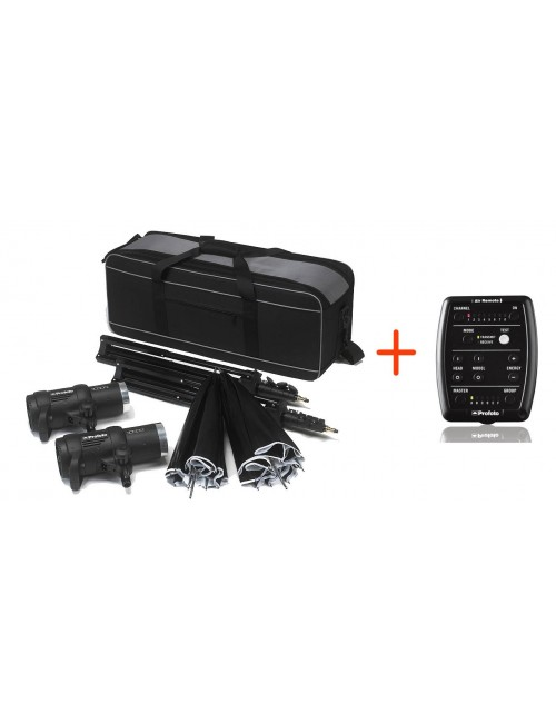 Profoto D1 Studio Kit 500-1000W + Air Remote