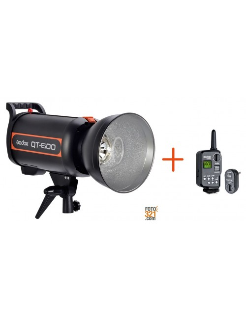 Flash Godox QT-600 + FT16