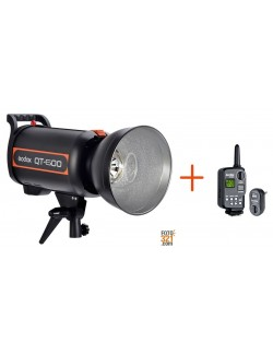 Flash de estudio Godox QT-600 + FT16