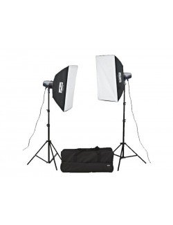 Kit flashes de estudio Metz BL-400 SB Kit II