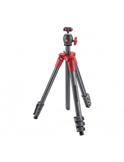 Trípode manfrotto Compact light rojo