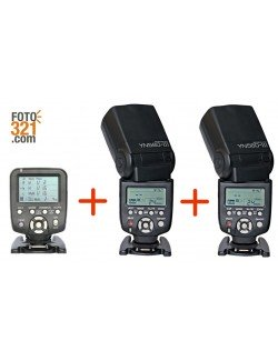 Kit trigger YN 560TX Canon + 2x flashes YN 560 IV
