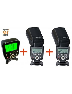 Kit 2x flashes YN 560 IV + trigger YN560TX Nikon
