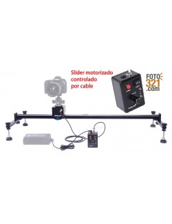 Slider para video y timelapse de 1,5 metros