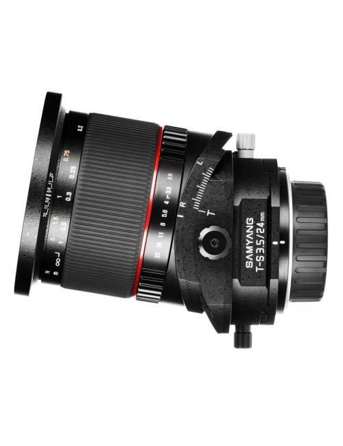 Objetivo Samyang 24mm 3.5 Tilt and Shift Sony