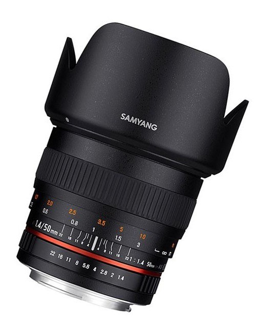 Samyang 50mm f1-4 AS UMC Canon EF