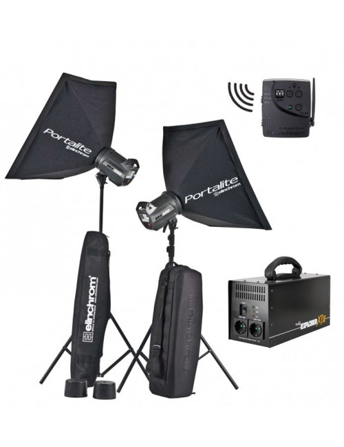 Kit-2-flashes-Elinchrom-BRX500-To-Go-Bateria