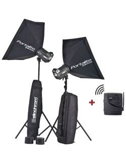 Kit 2 flashes Elinchrom BRX500 To Go