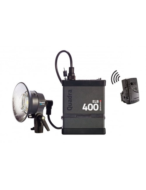 Kit Elinchrom ELB 400 One Action Head To Go
