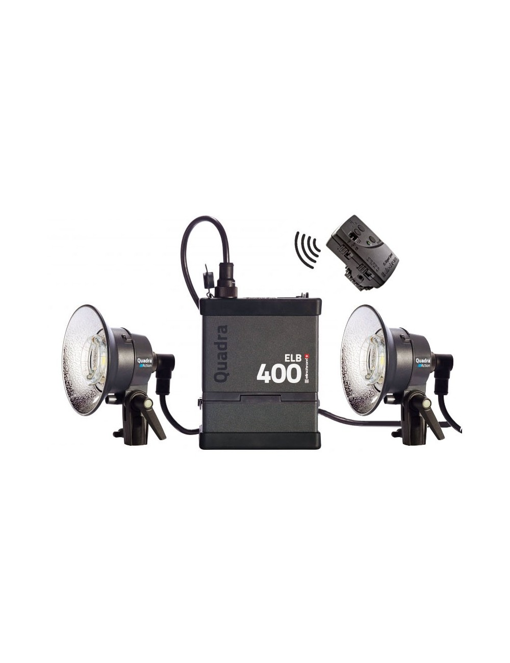 Kit 2x Action Heads Elinchrom ELB 400 To Go