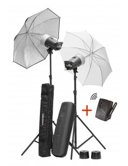 Kit 2x Flashes Elinchrom D-LITE RX 2/4 To Go