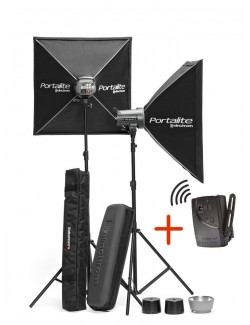 Kit 2x Elinchrom D-LITE RX 2 To Go