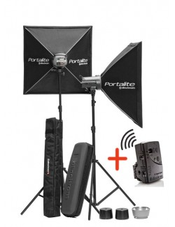 Kit 2x Flashes Elinchrom D-LITE RX 4 To Go