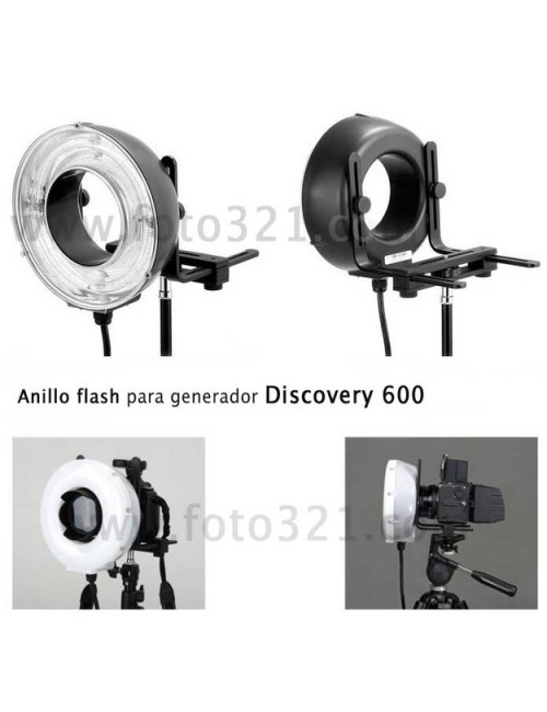 Anillo flash Discovery 600