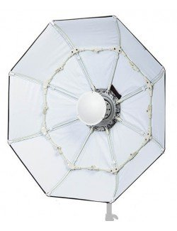Beauty Dish plegable 85cm Blanco