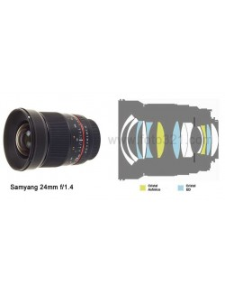 Samyang 24 mm 1.4 ED AS IF UMC Canon EF