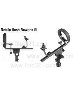Rótula Flash Bowens 3