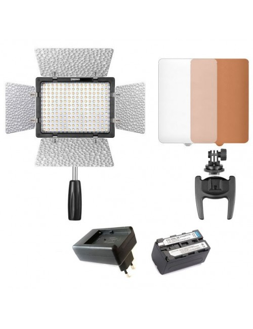 Kit Led YN 160 III con bateria