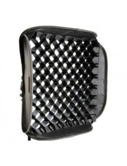 Softbox plegable 40x40 con grid