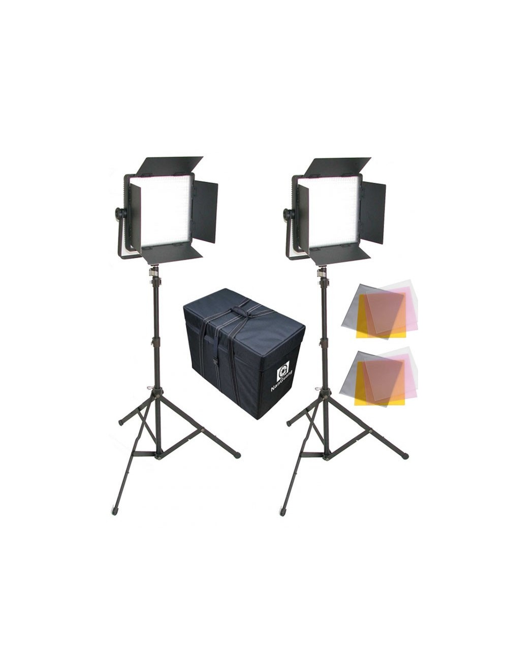Kit 2 Panel LED CN 600SA Luz Dia