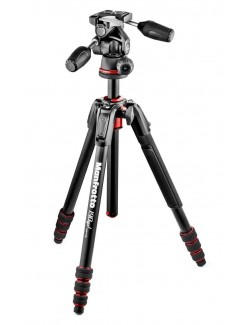 Trípode Manfrotto 190Go con rotula 3 way