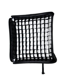 Softbox plegable 80x80cm con grid