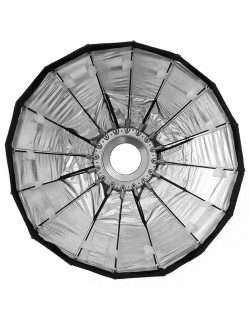Softbox 16 varillas Plata con grid Bowens
