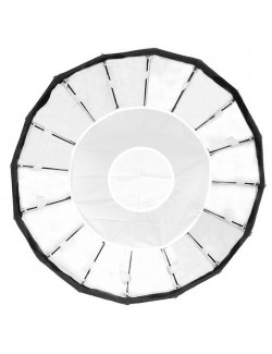 Softbox plegable 16 blanco difusor bowens