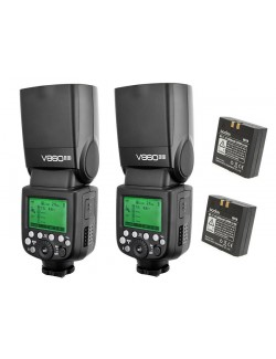 Kit 2x flashes Godox V860IIS Sony