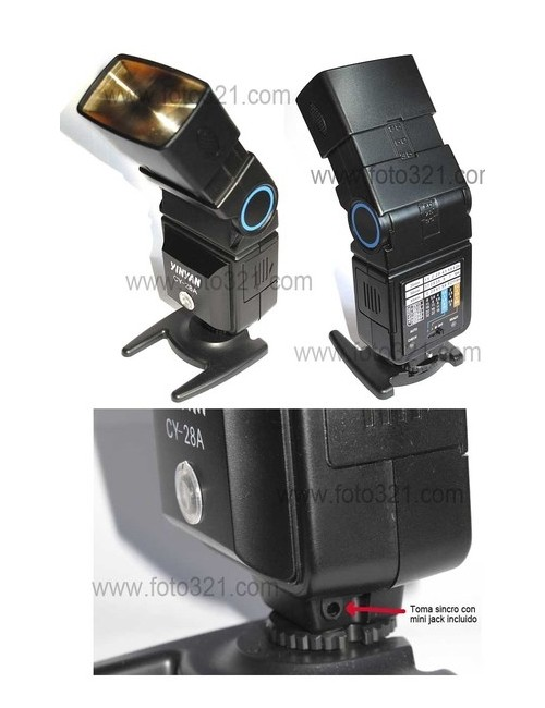 Flash manual CY-28A