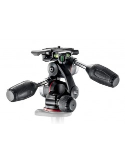 Rotula Manfrotto 3 Way con tres niveles y plato 200PL