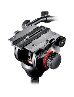 Manfrotto 504HD para video con zapata extraible