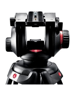 Manfrotto 504HD con zapata rapida
