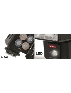 Flash metz M400 luz-led