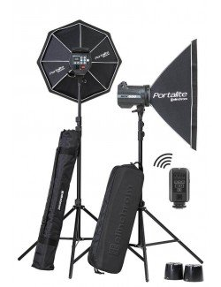 Kit 2 flashes Elinchrom BRX500 Softbox To Go