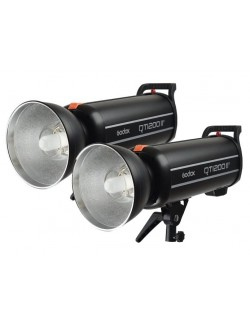 QT1200II kit de 2 flashes