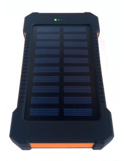 Cargador Solar de 20000 mAh - Power Bank frontal