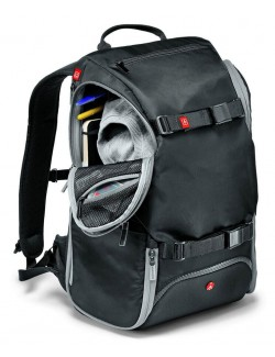 Manfrotto Travel Backpack acceso lateral