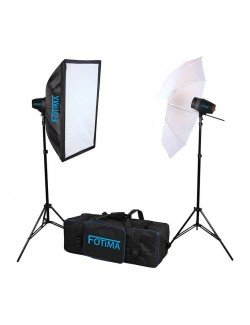 Kit flash de estudio Fotima FTF-160