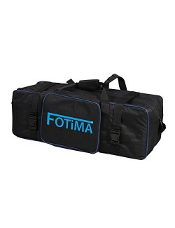 Kit flash de estudio Fotima FTF-160 maleta acolchada