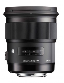 Sigma 50 mm F1.4 DG HSM Art