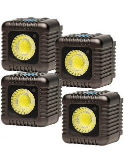 Kit 4x Lume CUBE Gris Antracita