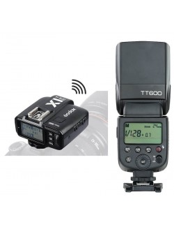 Flash TT600 para Nikon con el disparador X1T