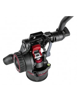 Rótula vídeo Nitrotech N8 con movimiento fluido Manfrotto
